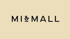 Mi & Mall Logo, by Atipo