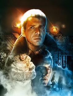 Blade Runner por Alejandro Colucci