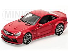 The 1/18 Red 2010 Mercedes-Benz Black Series SL65 AMG from the Minichamps 1/18 Road Cars collection - Discounts on all Minichamps diecast models at Wonderland Models.    One of our favourite models in the Minichamps 1/18 Road Cars range is the Minichamps Red 2010 Mercedes-Benz Black Series SL65 AMG.