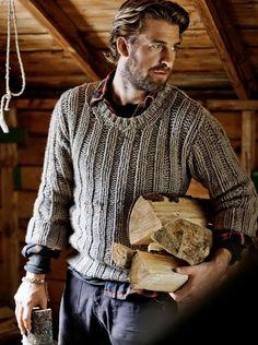 Real men wear sweaters