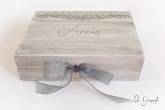 #Caja de #boda #anillos y #arras Juande y Rosa. www.lolagranado.com