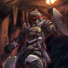 Beautiful Anime - 7anime.net Fantasy Warrior, Fantasy Rpg, Dark Fantasy, Goblin, Anime Manga, Anime Art, Les Gobelins, Knight Shield, Slayer Meme