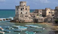Mogadishu was one of the towns to flourish by trading raw goods for Indian, Islamic, and Chinese luxuries.