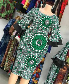 African Dresses For Kids, Latest African Fashion Dresses, African Dresses For Women, African Print Fashion, African Attire, Women's Fashion Dresses, African Hair, Luanna, African Traditional Dresses