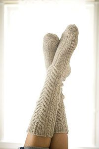 need: several-many pairs of thick ass wool socks like this, particularly knee-thigh high.