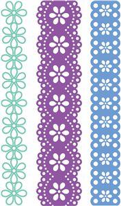 Silhouette Design Store - View Design #27394: paper lace set