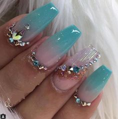 20+ Most Amazing Summer Nails Art - Summer Nails Art Ideas