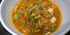 Arjen nopea minestronekeitto valmistuu alle puolessa tunnissa ja maistuu kaikille. Voit korvata jauhelihan esim. kasvis- tai maitopohjaisilla aineksilla.