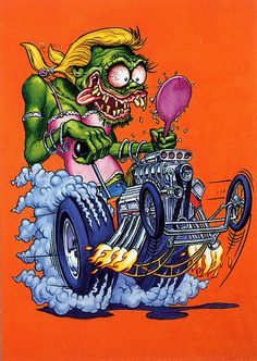 Rat Fink Ed Big Daddy Roth - Girl Fink