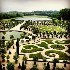Château de Versailles ve městě Versailles, Île-de-France