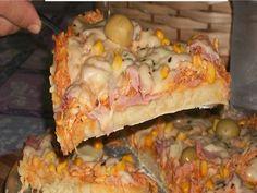 Imagem da receita Pizza de liquidificador fácil e rápida