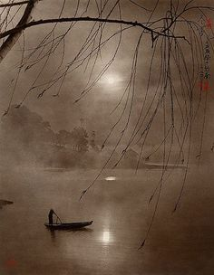 Winter fog. Vietnam. I didn't get to experience winter in Viet Nam. Quan wants me to badly...