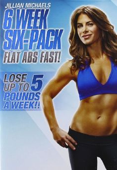 Jillian Michaels: 6 Week Six-Pack [DVD] Next workout to try after 30 day shred!