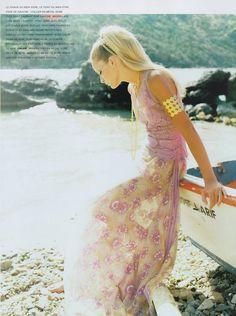 ☆ Georgina Grenville | Photography by Satoshi Saikusa | For Vogue Magazine France | May 1996 ☆