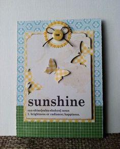 Sunshine & Butterflies Patty Folchert 7-13