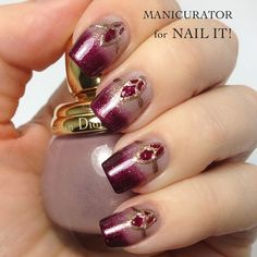 nice ombre color transition