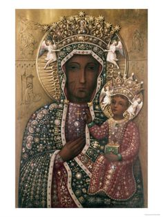 The Black Madonna, Czestochowa, Poland