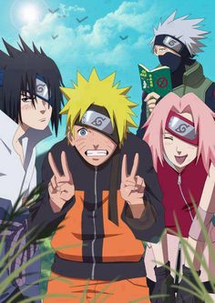 Anime Haruno Sakura Hatake Kakashi Naruto Uchiha Sasuke Uzumaki Naruto AnimeManga sometimes Marvel Star Wars Harry Potter Naruto Shippuden Sasuke, Anime Naruto, Otaku Anime, Naruto Und Sasuke, Wallpaper Naruto Shippuden, Naruto Cute, Naruto Sasuke Sakura, Boruto, Manga Anime