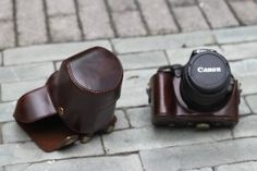 MegaGear ''Ever Ready'' Dark Brown DSLR Camera Case for Canon EOS Rebel T3i 18-55mm IS 18-135mm IS /Canon 600D 18-55mm 18-135mm IS: Camera & Photo