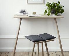 Georg skrivbord. Dansk minimalistisk design från Skagerak.  . #workspace #arbetsplats #skagerak