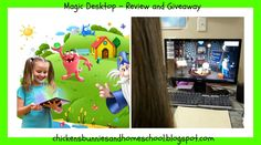 Chickens, Bunnies, and Homeschool: Review and Giveaway Magic Desktop Parental Software