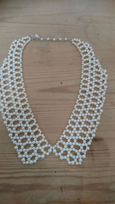 Large Vintage pearl collar/necklace by wilsonscollectables on Etsy