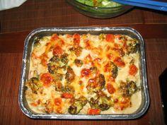 Kasvisgratiini Joko, Lasagna, Food And Drink, Vegetarian, Favorite Recipes, Baking, Dinner, Vegetables, Breakfast
