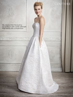 Find at Eva's Bridal Center! http://evasbridalcenter.com/ Kenneth Winston - Private Label By G