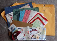 Gallo Organico: Travel Journal Tutorial (June Counterfeit Kit)
