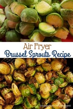 Fried Brussel Sprouts Recipe made in an Air Fryer! Healthy Fried Brussel Sprouts Recipe made in an Air Fryer! - DheFoodHealthy Fried Brussel Sprouts Recipe made in an Air Fryer! Avocado Toast, Avocado Egg, Fried Brussel Sprouts, Brussels Sprouts, Cooks Air Fryer, Sauce Pizza, Air Fryer Oven Recipes, Air Fryer Recipes For Shrimp, Convection Oven Recipes