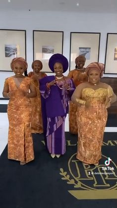 Bridesmaid Outfit, Bridesmaids And Groomsmen, African Dresses For Women, African Attire, African Textiles, African Fabric, Bridal Outfits, Bridal Dresses, African Fashion Traditional
