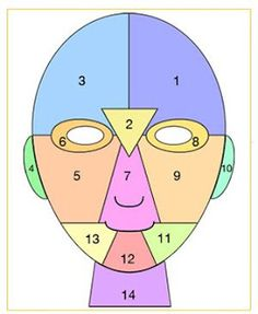 All 2 Women: Wonderful info from Facial Mapping.