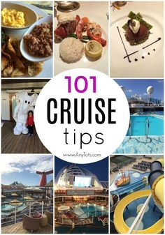 101 Cruise Tips and Tricks - Any Tots - 101 Cruise Tips. Cruise Food, Cruise Menu, Cruise Essentials, Tips for First Time Cruisers, Tips fo - Packing List For Cruise, Cruise Travel, Cruise Vacation, Disney Cruise, Packing Tips, Vacation Trips, Vacation Ideas, Cruise Wear, Vacation Spots