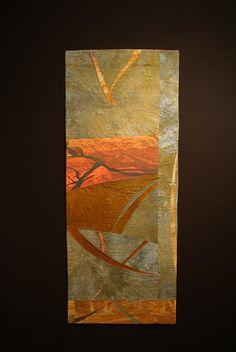 """Fluvial Force"", Nancy Dobson, Textile Artist"