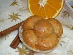 Bubblemuffins mit Zimt und Orangen-Glasur