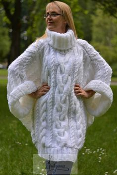 Hand knit beige cardigan with pockets Warm Cozy Alpaca Long cardigan Womens handmade winter sweater jumper pullover