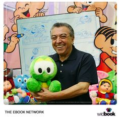 We've spoken to Maurício de Sousa, the greatest brazilian cartoonist. Read the whole article in our blog.