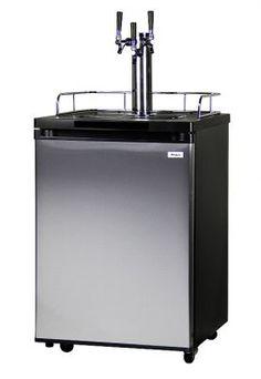 http://www.beveragefactory.com/draftbeer/kegerators/triplekegerator/Kegco_K209SS-3_Triple_Faucet_Kegerator.html