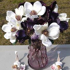 """1高貴モクレンdenudata絹の布の花の39.4 """"Lセット – JPY ¥ 913"""