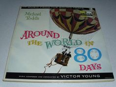 Around The World In 80 Days Music from the Soundtrack vinyl Record Free Shipping