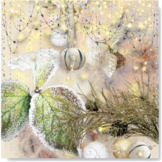 frosty morning by drenise on Polyvore featuring kunst, Winter, Collage and artset