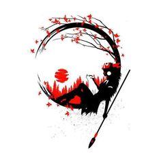 Princess circle red and black by Albertocubatas. Studio Ghibli Tattoo, Studio Ghibli Art, Totoro, Anime Kunst, Anime Art, Mononoke Anime, Art Sketches, Art Drawings, Arte Sketchbook