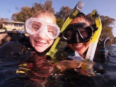 Ellen and Sussanah during their Instructor training at Abyss. Gota love all the smiles! :-)