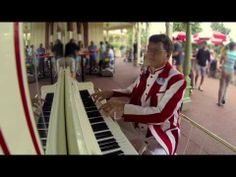 We are thankful for the individuals that make Disney come to life! Check out this video of the piano player at Magic Kingdom Park. Today is his 30th anniversary!  #UndercoverTouristPinterestGiveaway
