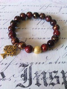 Tree of Life KikiJabri Jewels Beaded Bracelets by KiKiJabriJewels, $12.00