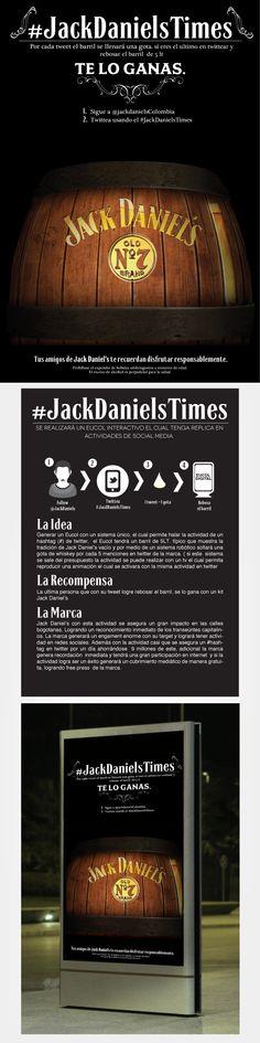 Jack Daniel's  --  DIGITAL ESTRATEGIC by Andrés Porras, via Behance