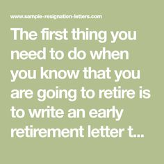 11 Best Retirement letter images in 2018 | Letter example