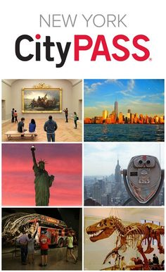 Traveling to NYC soon? Try City Pass to get discounts off of NYC attractions. Save off admission to the best New York attractions with New York CityPASS®. Plus, skip most tickets lines. Ellis Island, Attractions New York, New York Restaurants, New York Poster, Empire State Building, Metropolitan Museum, Isla Ellis, Brooklyn Bridge, New York Guide