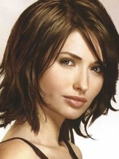 Short Wavy Hairstyles For Round Faces And Thick Hair – Refreshshort hairstyles for ladies with round faces | Fashion and Style Trends