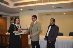 Dr. Parvathy Radhakrishnan receiving certificate of Fellowship in minimal access Surgery at World Laparoscopy Hospital. For more detail please log on to www.laparoscopyhospital.com